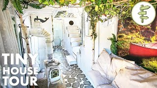 Download DIY Tiny House with the Most INCREDIBLE Interior Design! Video