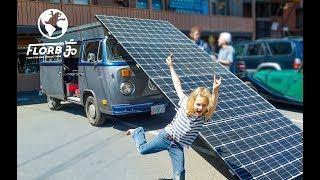 Download This is a Fully Solar Powered Electric VW Bus Video