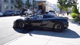 Download McLaren 675LT Spider - Startup, Leaving Video