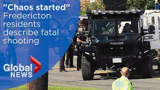 Download Fredericton shooting: Witnesses describe deadly gunfire Video