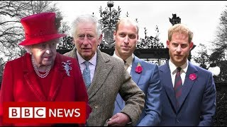Download Royal talks on Harry and Meghan's future – BBC News Video