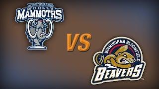 Download USPBL- Westwide Woolly Mammoths vs. Birmingham-Bloomfield Beavers Video