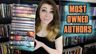 Download TOP TEN MOST OWNED AUTHORS! Video