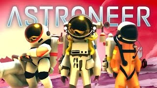 Download SPACE EXPLORATION! - ASTRONEER MULTIPLAYER #1 w/ Lachlan & Woofless Video