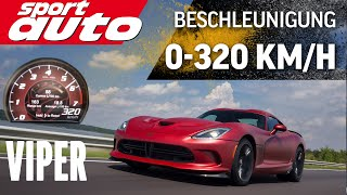 Download SRT Viper 320 km/h Acceleration Test sport auto Video
