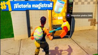 Download GANANDO SOLO CON MÁQUINAS EXPENDEDORAS! Fortnite: Battle Royale Challenge Video