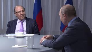 Download Интервью Владимира Путина телеканалам Al Arabiya, Sky Nеws Arabia и RT Arabic Video