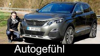 Download Peugeot 3008 GT FULL REVIEW test driven all-new SUV neu 2017/2018 - Autogefühl Video