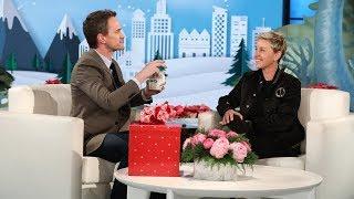Download Neil Patrick Harris' Magic Trick Blows Ellen's Mind Video