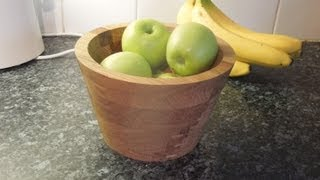 Download Making a Bandsaw Bowl Video