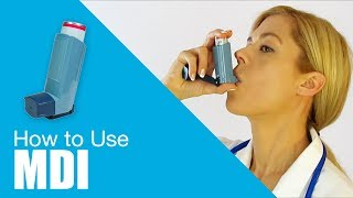 Download How to use Metered Dose Inhaler (MDI) Video
