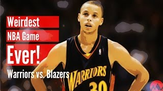 Download The Weirdest NBA Game Ever! (Warriors vs. Blazers) Video