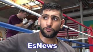 Download Amir Khan Breaks Down Mayweather vs McGregor and Nate DIaz Boxing Skills EsNews Boxing Video