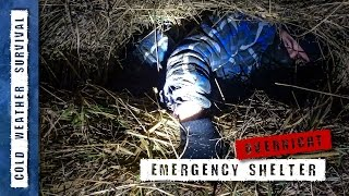 Download Winter Emergency Shelter - cold weather survival Video