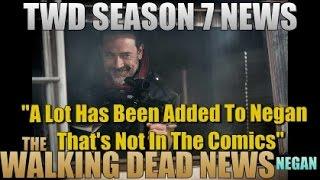 Download The Walking Dead Season 7 News Jeffrey Dean Morgan Talks About TV Show Negan Vs Comic Negan Video