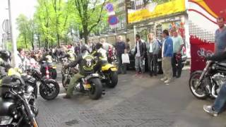 Download Harley Day Amsterdam 2011 - Hells Angels meet Satudarah (3/5) Video
