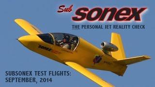 Download SubSonex September 2014 Test Flights Video