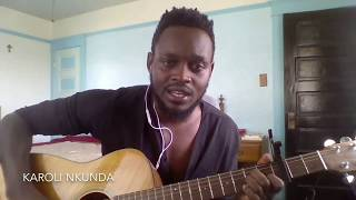 Download Karoli nkunda nshuti yanjye y'amagara (Guitar cover by Narcy) Video