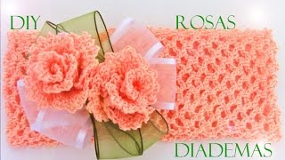 Download Rosas a crochet - how to crochet roses Video