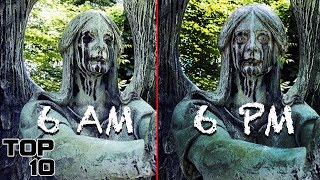 Download Top 10 Scary Statues Caught Moving - Part 2 Video