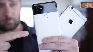 Download Why I Switched to the Google Pixel 2 XL after 10 Years of iPhone in 2018 by 555 Gear Video