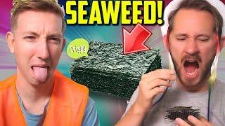 Download Eat Seaweed w/ MATTHIAS! Dollar Store Challenge Video