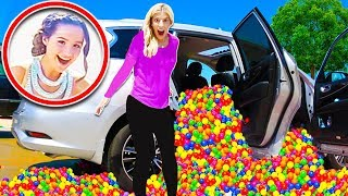 Download Ball Pit PRANK in the BRATAYLEY Car on the set of Chicken Girls! (Pranking the Leblanc Family) Video
