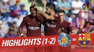 Download Resumen de Getafe CF vs FC Barcelona (1-2) Video