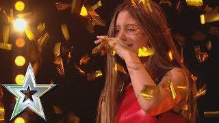 Download 14 year old singer Iveta gets Michelle's Golden Buzzer! | Ireland's Got Talent 2019 Video