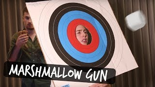 Download THE MARSHMALLOW GUN CHALLENGE Video