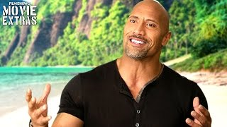 Download Moana | On-set visit with Dwayne Johnson 'Maui' Video