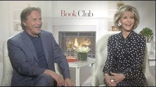 Download BOOK CLUB interviews - Fonda, Johnson, Keaton, Garcia, Bergen, Steenburgen, Craig T Nelson Video