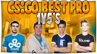 Download CS:GO - Best PRO 1v5 CLUTCHES ft. Shroud, Hiko, Device & More! Video