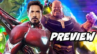 Download Avengers Infinity War Preview and New Trailer Details Video