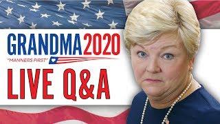 Download Grandma 2020 LIVE Q&A! Video