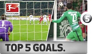 Download Top 5 Goals - Brandt, Risse and More with Sensational Strikes Video
