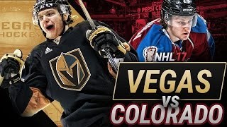Download WHO WOULD WIN TODAY? VEGAS vs COLORADO - NHL 17 Video