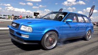 Download 800HP Audi S2 Avant - Fast 1/4 Mile Test Run - PURE TURBO SOUNDS!! Video