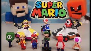 Download Super Mario Bros K'nex Series 10 Knex Building Block Blind Bag Action figures Case Unboxing Video