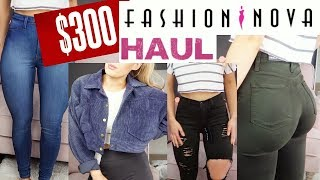 Download $300 FASHION NOVA TRY-ON HAUL | I WAS SHOCKED! Video