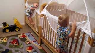 Download Twins Putting Themselves to Bed Video