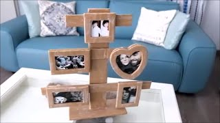 Download How To Make a Cardboard Photo Frame - Home DIY Video