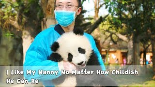 Download I Like My Nanny No Matter How Childish He Can Be | iPanda Video