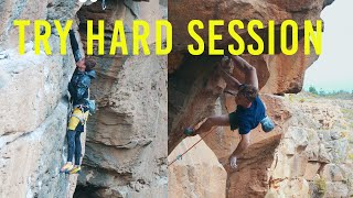 Download Climbing Dream:2 Finger Pockets Campus And Onsight Try, Magnus Midtbø And Eric Karlsson (So Psyched) Video