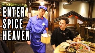 Download Eating At A Communist Restaurant in China | Mindblowing Chinese Food in Sichuan Video