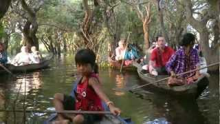 Download CAMBODIA kampong (kompong) Phluk, Tonle Sap Lake (hd-video). Video