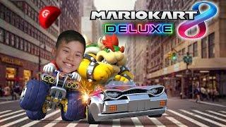 Download MARIO KART 8 DELUXE!!! Evan vs. Daddy Bowser! Grand Prix Nintendo Switch Video