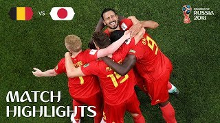 Download Belgium v Japan - 2018 FIFA World Cup Russia™ - Match 54 Video