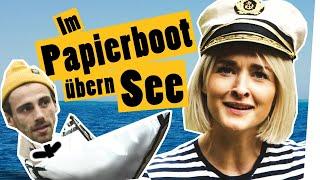 """Download Challenge im Kliemannsland: Papierboot falten und über den See schippern    """"Das schaffst du nie!"""" Video"""