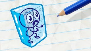 Download Pencilmate Saves his Friend -in- FALL BY MYSELF - Pencilmation Cartoons for Kids Video